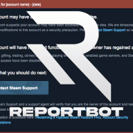 ReportBot.cloud 1x Steam Reportbot key